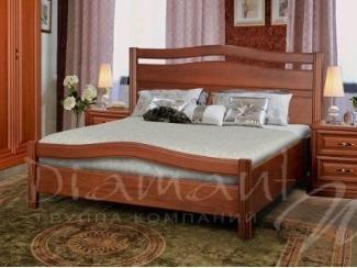 Кровать из массива Руно 11 - Мебельная фабрика «Диамант-М»
