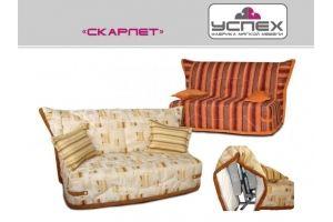 Диван прямой Скарлет - Мебельная фабрика «Успех», г. Ульяновск