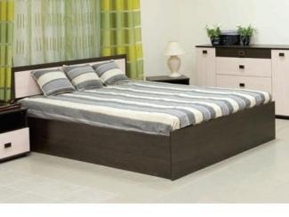 Недорогая кровать Династия  - Мебельная фабрика «Интерьер»