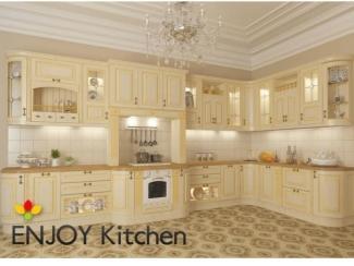 Кухня угловая Кальяри - Мебельная фабрика «ENJOY Kitchen»