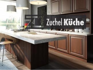 Кухонный гарнитур прямой Бремен Корица - Мебельная фабрика «Zuchel Kuche»