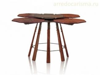 Стол журнальный с вращающейся серединой Clover Leaf - Импортёр мебели «Arredo Carisma (Австралия)»