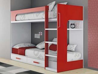детская кровать 2х ярусная 7 (Гармония) - Мебельная фабрика «Элфис»
