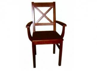 Простой стул с подлокотниками Тауэр-029 - Мебельная фабрика «Ногинская фабрика стульев»