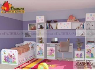 Детская Пони 1 - Мебельная фабрика «Галина»