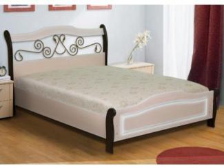 Кровать МДФ МК 14 - Мебельная фабрика «Уютный Дом»
