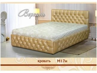 Кровать М17м Версаль - Мебельная фабрика «Селена»