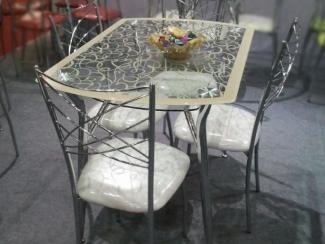 Стол обеденный А605F-B  - Мебельная фабрика «Эксито»