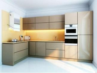 Кухня пластик PL 4 - Мебельная фабрика «FSM (Фабрика Стильной Мебели)»