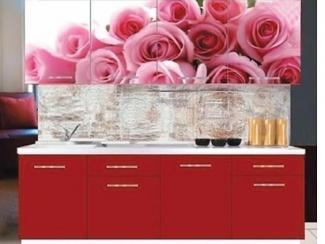Кухонный гарнитур прямой Роза