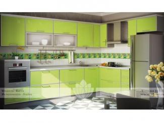 Кухня Бета Лайм - Мебельная фабрика «Абико»