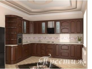 Кухня из массива дерева Шукшин - Мебельная фабрика «Престиж»