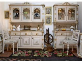 Кухонный гарнитур из массива Зима - Мебельная фабрика «Грин Лайн»