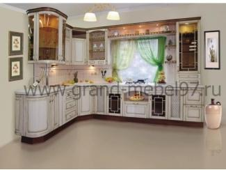 Кухня патина 06 - Мебельная фабрика «Гранд Мебель»