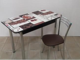Стол обеденный прямоугольный Кофе - Мебельная фабрика «Астера (ТМФ)»