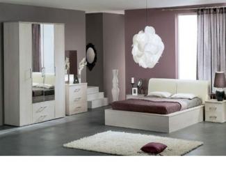 Светлый спальный гарнитур  - Мебельная фабрика «Мастер Мебель-М»
