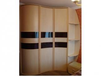 Радиусный шкаф с боковыми полками - Мебельная фабрика «ТРИ-е»