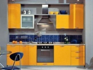 Кухня желтая прямая - Мебельная фабрика «Династия»