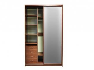 Шкаф купе двухстворчатый  - Мебельная фабрика «Балтика мебель»