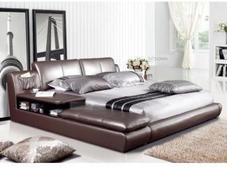 Удобная кожаная кровать Спарк  - Мебельная фабрика «Sitdown»