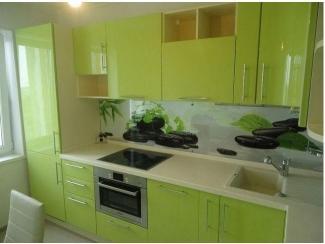 Зеленая кухня  - Мебельная фабрика «Kuhnishkaf», г. Москва