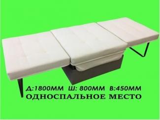 Пуф металлический раскладной  - Мебельная фабрика «ТРИТЭ», г. Ульяновск