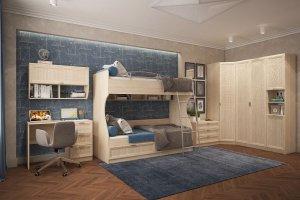 Мебель для детской Раут 1 - Мебельная фабрика «РОСТ», г. Бердск