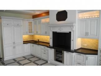 Вместительная кухня в белом цвете  - Мебельная фабрика «Вектра-мебель»