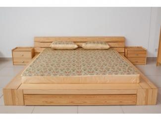 Кровать из массива сосны Токио