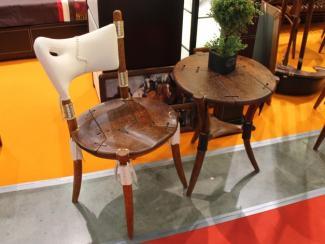 Мебельная выставка Москва: стул, стол
