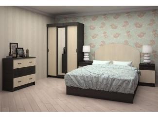 Спальный гарнитур Афродита 1 ЛДСП  - Мебельная фабрика «Ренессанс»