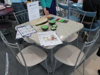 Мебельная выставка Сочи:стол обеденный, стулья