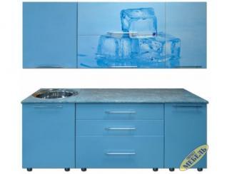 Кухня прямая 34 - Мебельная фабрика «Трио мебель»