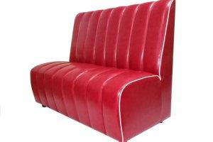 Красный диван на кухню Феррари - Мебельная фабрика «Виталия Мебель»