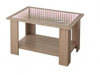 Журнальный стол СЖ-16/1 с 3D подсветкой - Мебельная фабрика «Северная Двина»