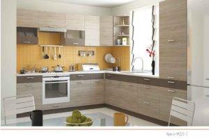 Кухня МДФ 3 - Мебельная фабрика «ПластДекор»