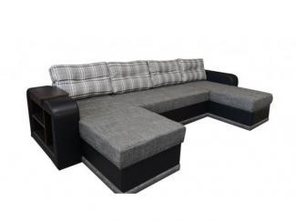 Диван угловой Квадро 2 с оттоманками - Мебельная фабрика «Норма»