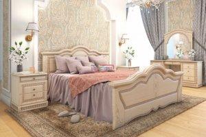 Спальный гарнитур Флоренция   - Мебельная фабрика «Вестра»