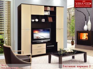 Гостиная стенка Мега вариант 2 - Мебельная фабрика «Элна»
