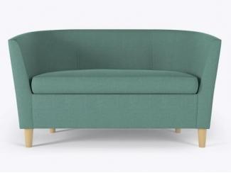 Двухместный тканевый диван Смит  - Изготовление мебели на заказ «Кухни ЧУ»