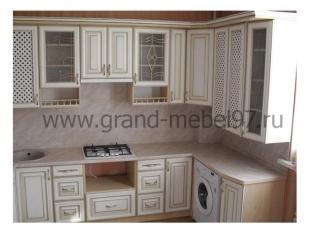 Кухня патина 010 - Мебельная фабрика «Гранд Мебель»