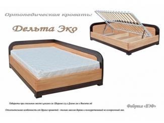 Ортопедическая кровать  Дельта Эко - Мебельная фабрика «ВЭФ»