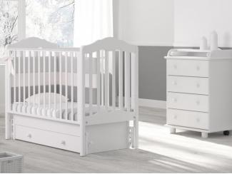 Детская кроватка с универсальным маятником Гандылян Анастасия - Мебельная фабрика «Гандылян»