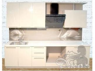 Бежевый кухонный гарнитур  - Мебельная фабрика «Джая»