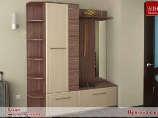 Прихожая Квадро вариант 2 - Мебельная фабрика «Элна»