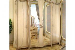 Шкаф платяной Амелия МДФ - Мебельная фабрика «Вестра»