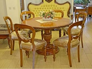 Стол деревянный резной - Импортёр мебели «Arbolis (Испания)»