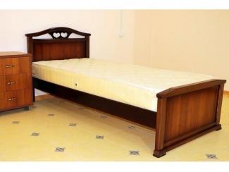 Односпальная кровать Артикул 0523 - Мебельная фабрика «кроватей Фаворит»