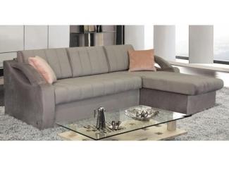 Серый угловой диван Спарк  - Мебельная фабрика «Стрэк-тайм»