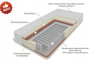 Матрас с независимым блоком Остин - Мебельная фабрика «Сарма»